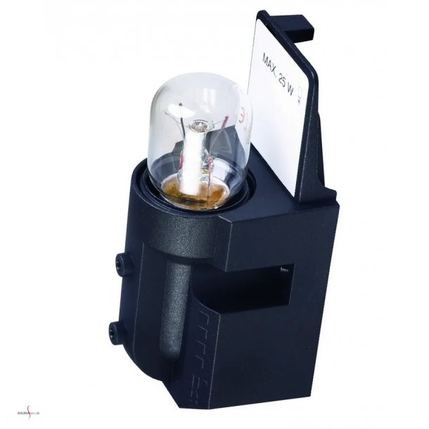 Saunalampe - simpel fatning til lampeskærme.