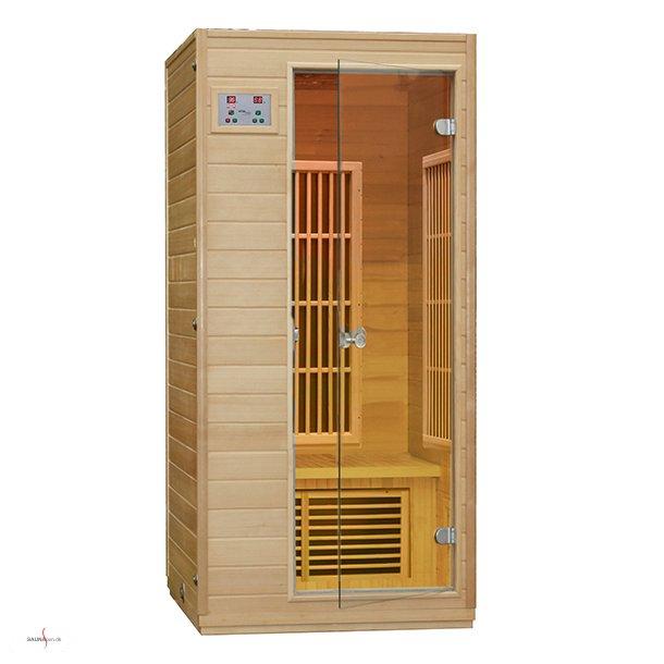 Infrarød Saunakabine 1.520 watt til 1 person - Low EMF